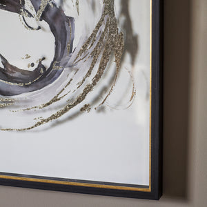 Whirls Framed Art