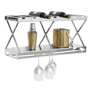Lux 2 Tier Wine Rack