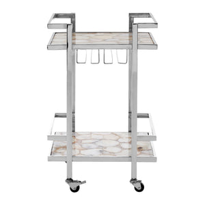 Agate Serving Trolley