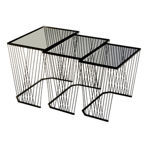 Wired Nesting Tables