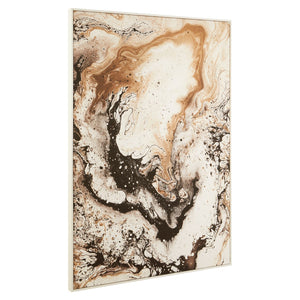Marbled Abstract Canvas