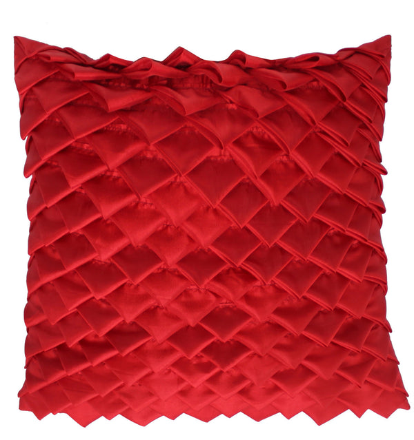 Red Avante Garde Cushion