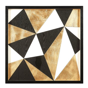 Geometric on Wood