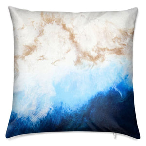 Ocean Bliss Cushion-Cushion-Urban Luxe Art