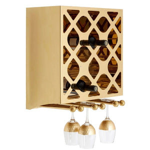 Lux Mounted Wine Rack