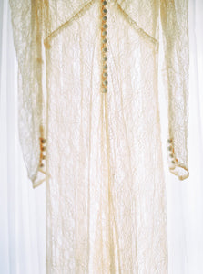 Vintage Dressing Gown- Rental