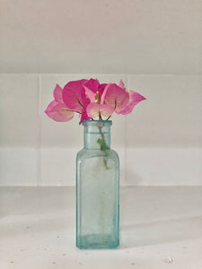 Vintage Coastal Glass Bottle