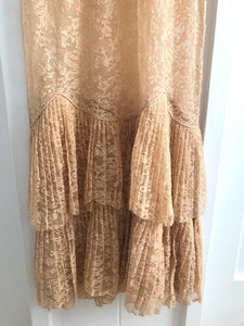 Vintage Lace Slip Dress