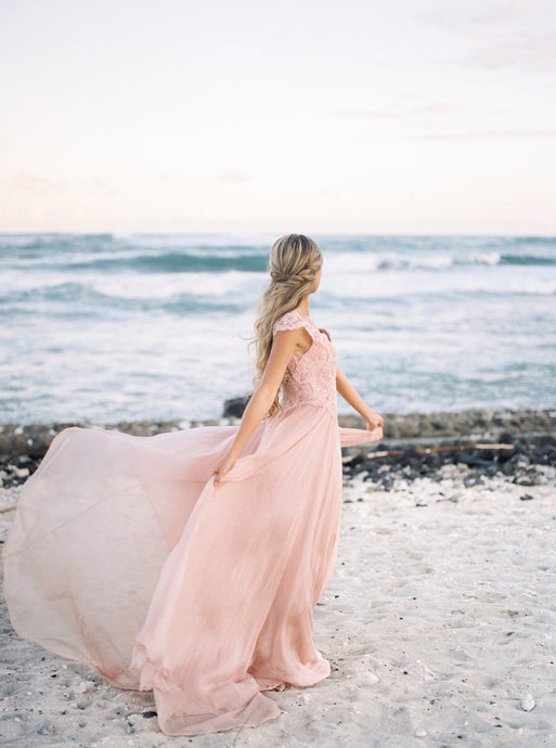 Sedona Silk Chiffon Dress - Rental