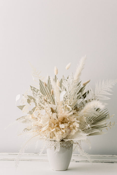 Dried Coastal Centerpiece