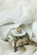 Load image into Gallery viewer, French Ormolu Ring Box - Rental