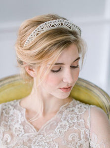 Antique Pearl Crown