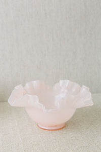 Blush Glass Vase