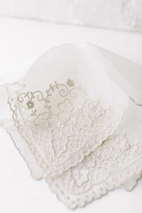 Hand Embroidered Handkerchiefs