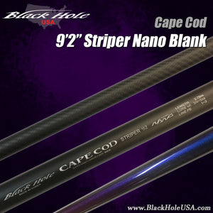 "Black Hole Cape Cod Striper Special 9'2"", 9'6' Nano"