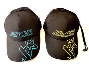 Jigstar All-weather Cap, Teal, Yellow