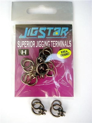 Jigstar Grommets, Solid, Swivel