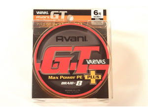 Varivas Avani GT Max Power Plus PE6, 8, 10, 12