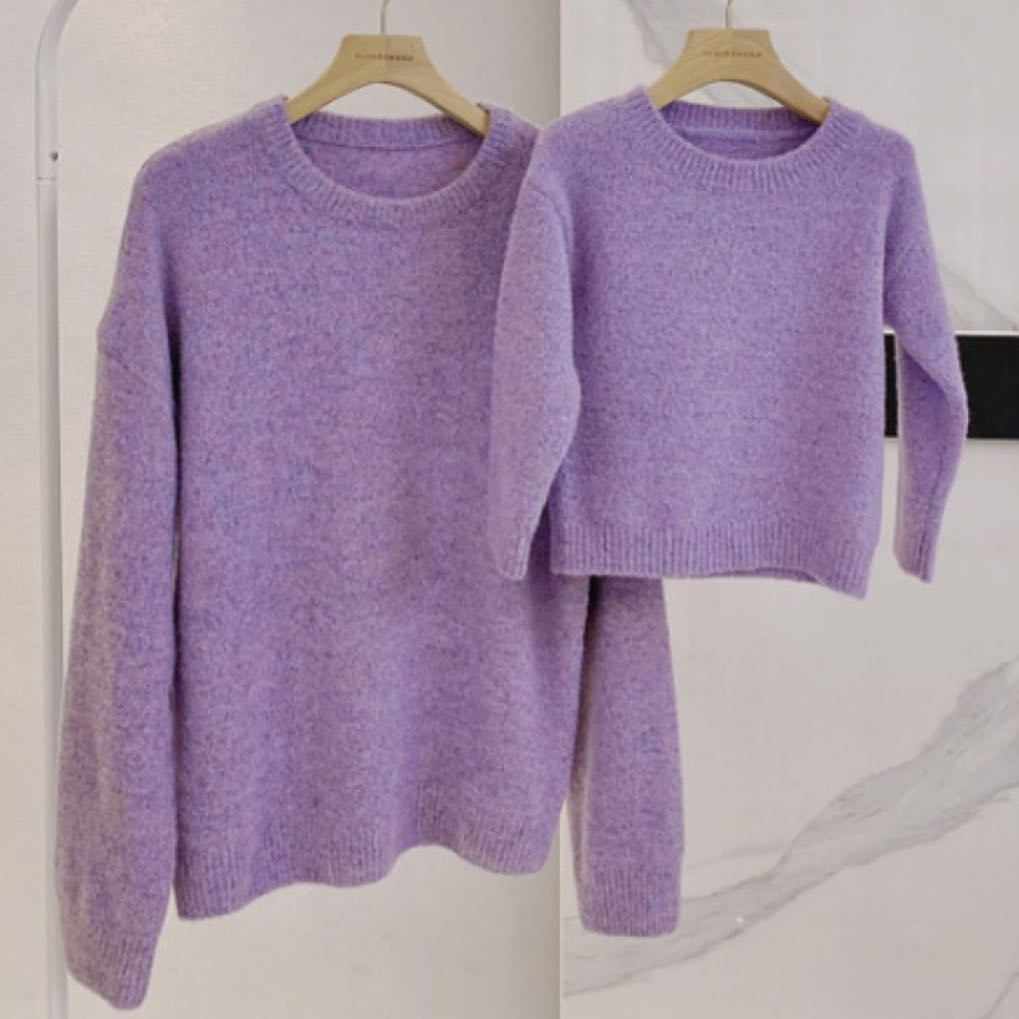 Matching Purple knits