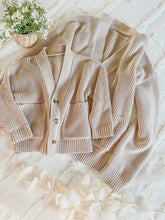 Load image into Gallery viewer, Oatmeal Mama Cardigan