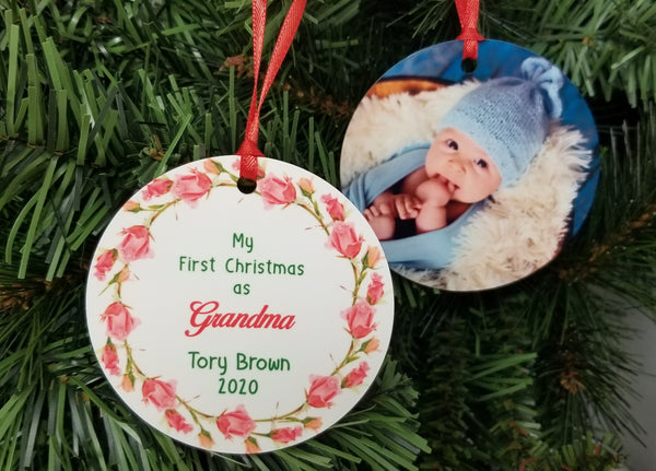 new grandmother christmas ornament gift