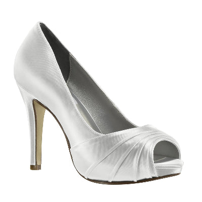 White Wedding Shoes - High Heel