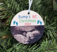 Bump's First Christmas Ornament Mother to Be Christmas Ornament