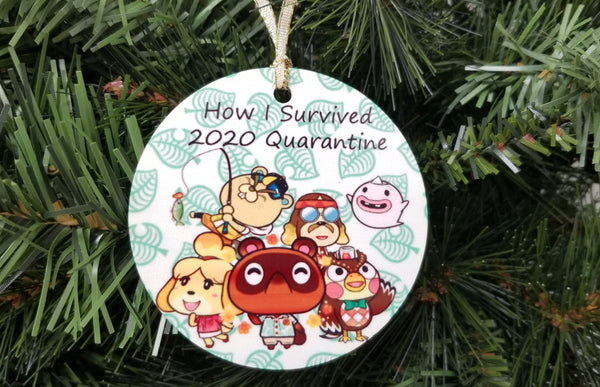 animal crossing ornament