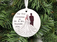 first year married ornament