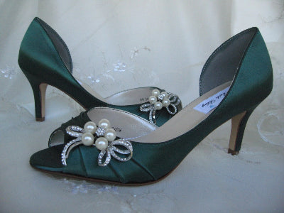 hunter green wedding shoes