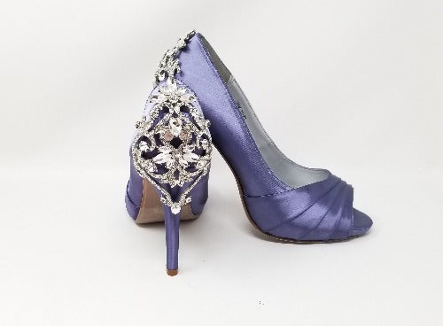 lilac purple wedding shoes