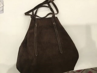 Sibilla suede purse
