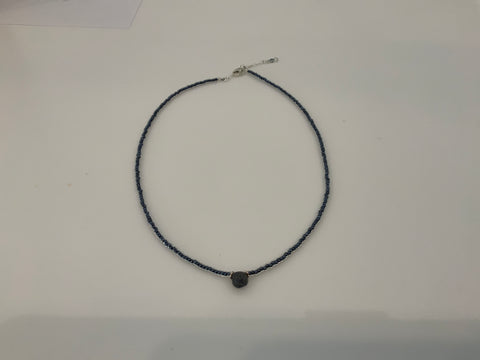 Labradorite beaded choker
