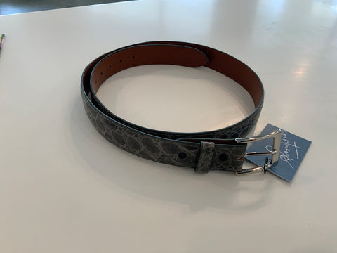 Blair's Belts - crocodile leather