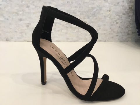 Jillian - black suede