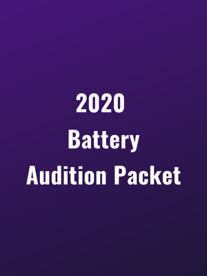 Genesis Battery 2020 Audition Packet