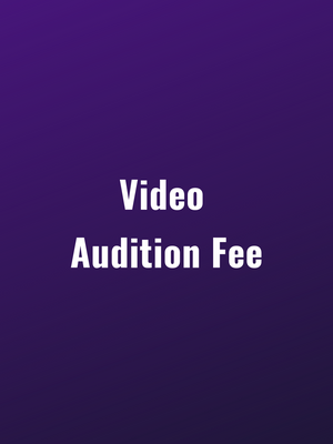 Video Pre-Audition
