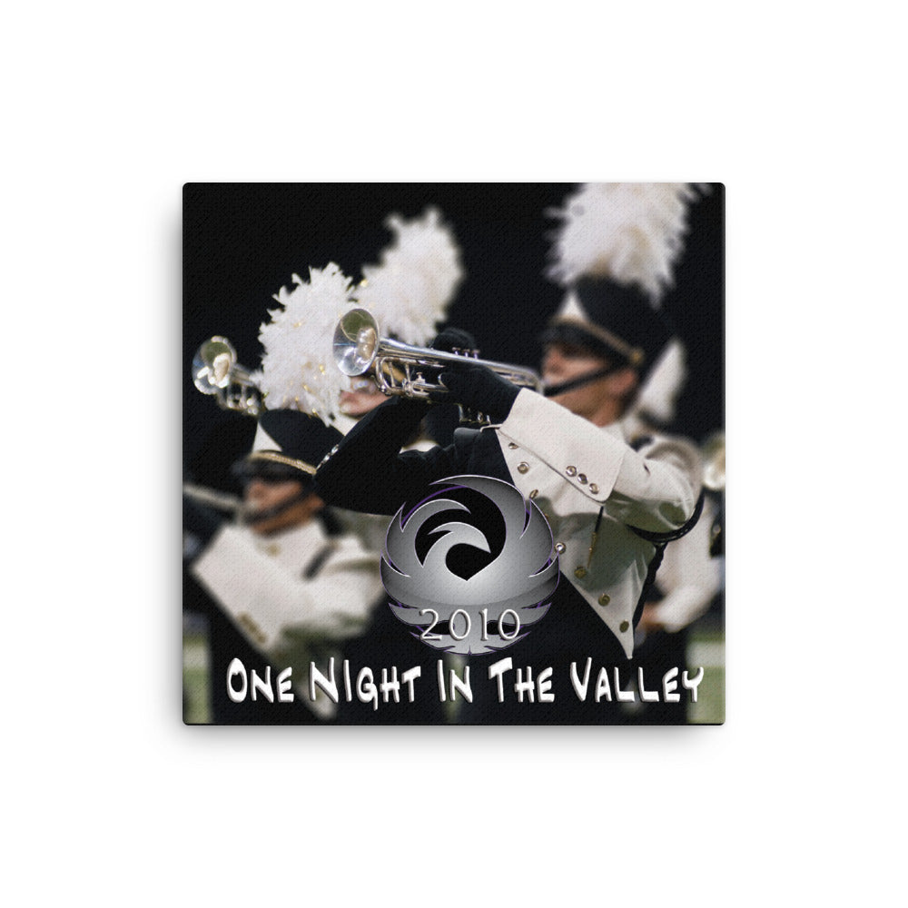 "2010 ""One Night In The Valley"" Canvas"