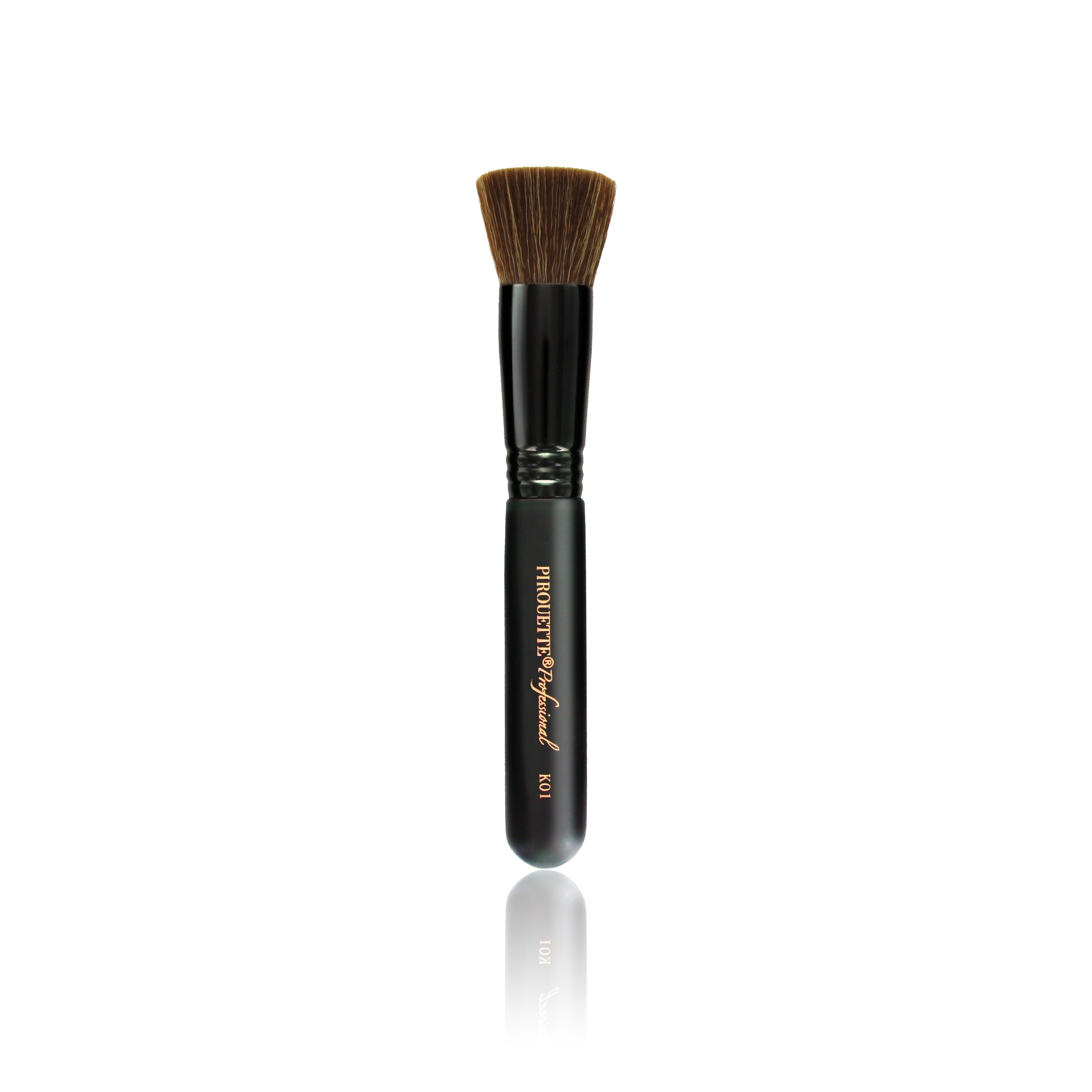 """Also Use The Flat Kabuki Brush To Apply Mineral Powders Over Your  Foundation, In Order To €�set It"""" In Place"""