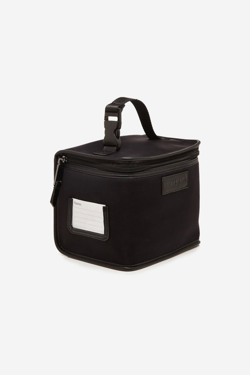 Arlo Lunch Bag / Snack Pack Black Scuba