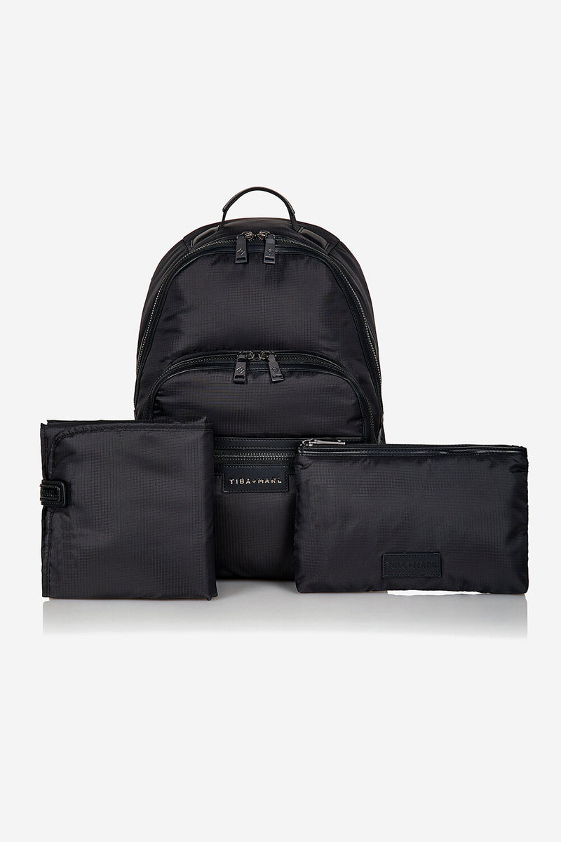 Eco Elwood Changing Backpack Black