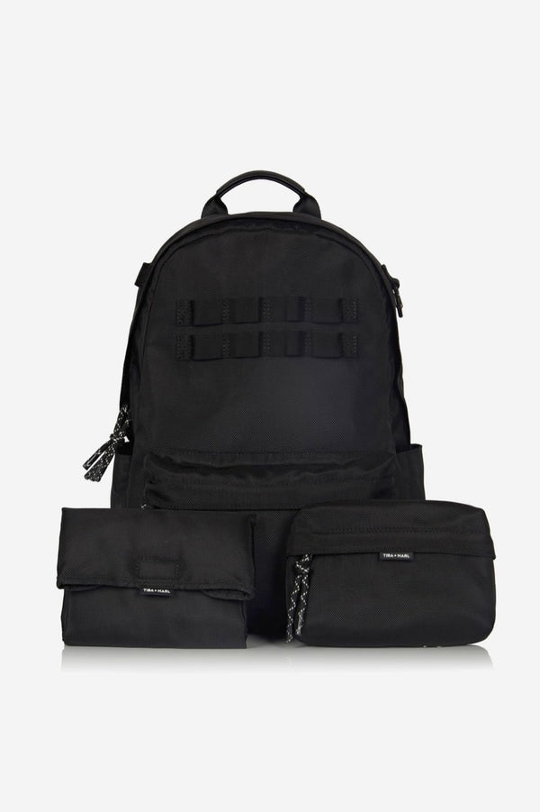 Concept Eco Changing Backpack Black Ultimate 3-piece Set