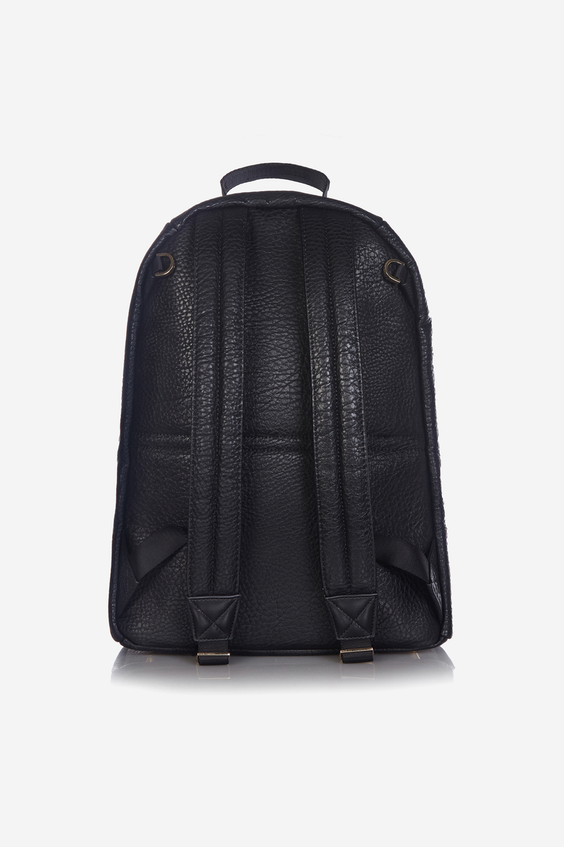 T+M x Selfridges Elwood Changing Backpack Black/Gold