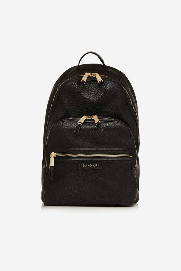 Elwood Twin Changing Backpack Black / Gold