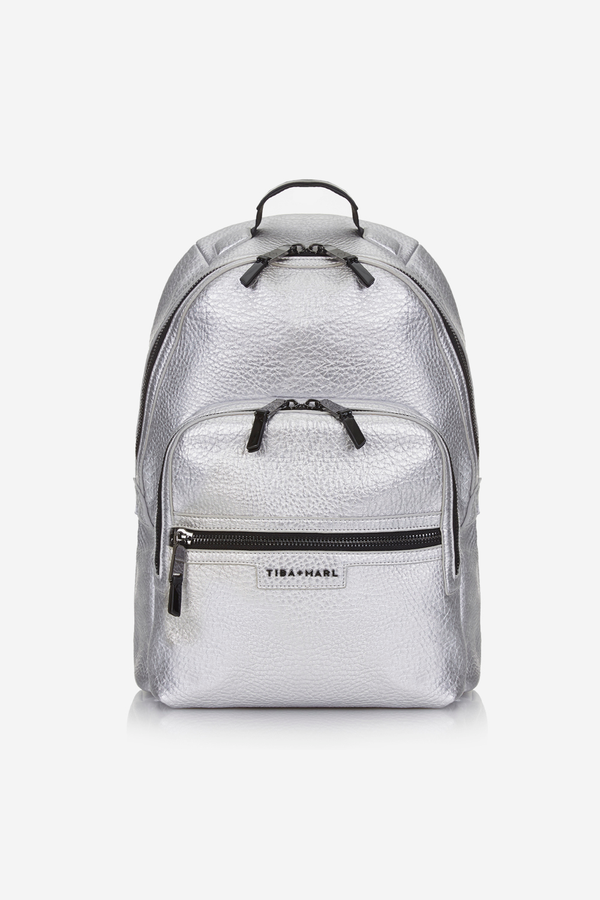 Elwood Changing Backpack Silver