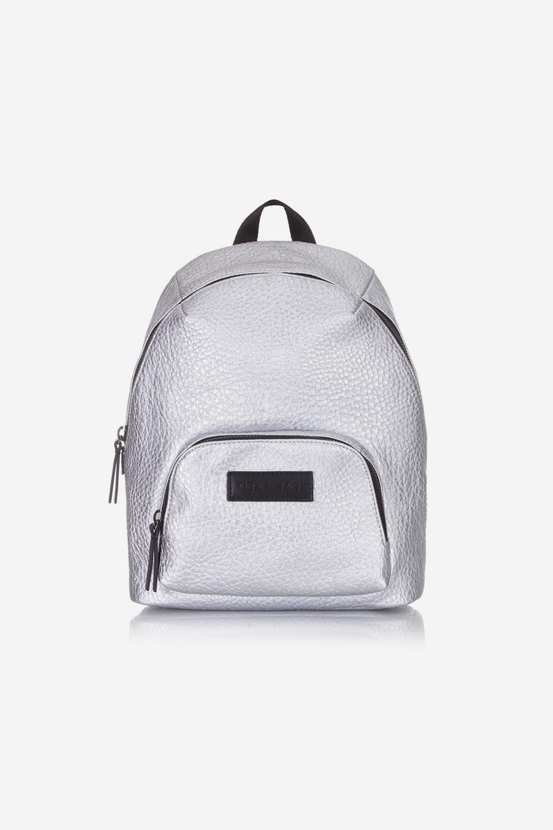 Mini Elwood Kids Backpack Silver