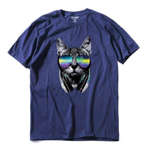 Camiseta Cat DJ