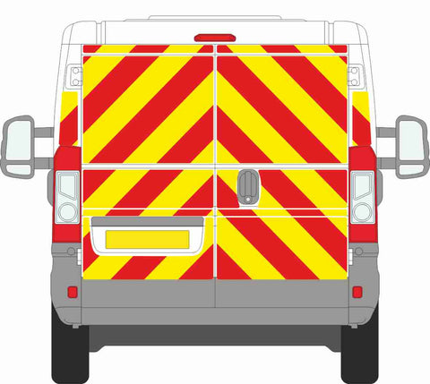 Fiat Ducato MK3 Standard Roof 2006  to present Full Chevron Kit