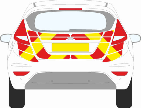 Ford Fiesta MK6 Hatchback 2008 to 2017 Chevron Kit