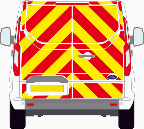 Ford Transit Custom MK1 standard roof 2013 to present full Chevron Kit